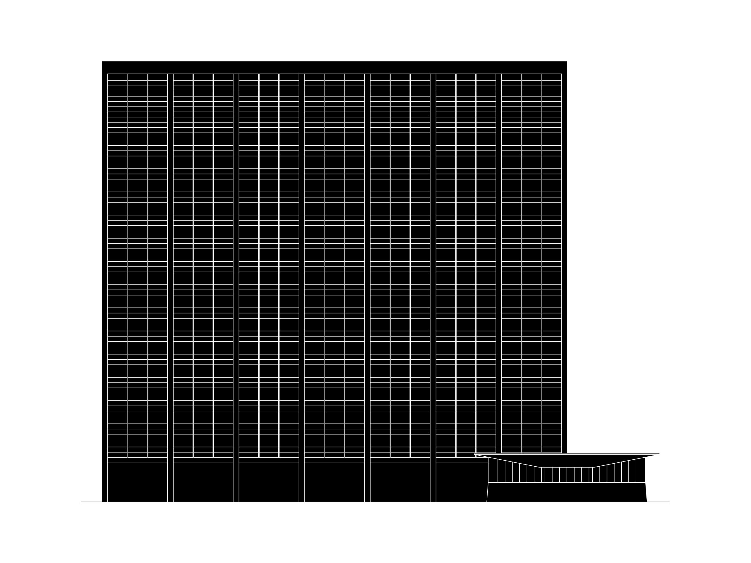 Høyblokka Revisited Drawing