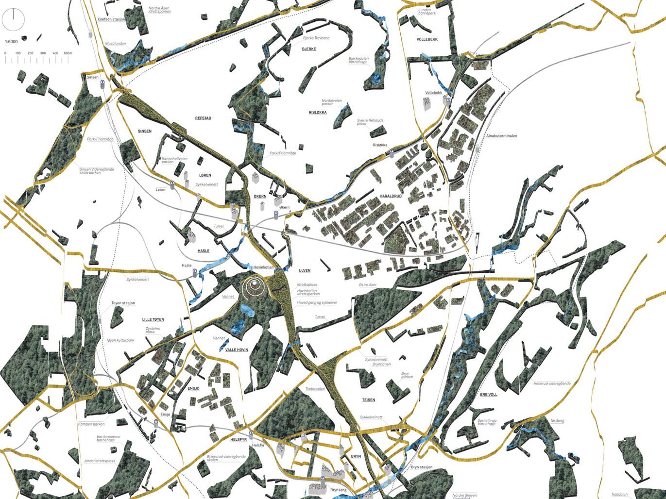 U67 Foresturbia Hovinbyen